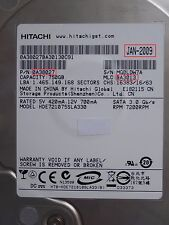 750GB Hitachi HDE721075SLA330 | 0A38027 | MLC: BA3013 | JAN-2009 PCB OK #170-172