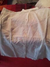 camicetta bianca antica con pizzo