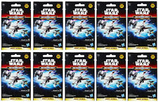 10 x STAR WARS MICRO MACHINES GOLD SERIES BLIND BAGS PACKS SERIES 5 BRAND NEW