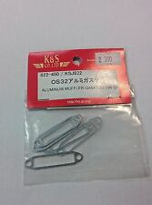 K&S Aluminum Muffler Gaskets OS32 KSJ822