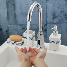 Automatic Electronic Hands Free Sensor Touch Control Sink Mixer Tap Basin Faucet