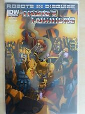 """Transformers Robots In Disguise Issue 16 """"First Prints"""" - 2013 IDW"""