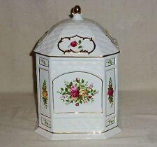 Royal Albert Old Country Roses Cookie Jar Gazebo