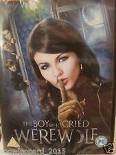 The Boy Who Cried Werewolf Movie DVD Victoria Justice New Sealed Original UK R2