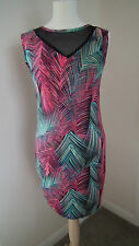Black and Pink Stretch Dress from Indulgence London  size S/M