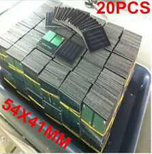 20Pcs 2V 30mA 54X41mm Mini Small Solar Cell Panel Module For DIY Charger Toy Kit
