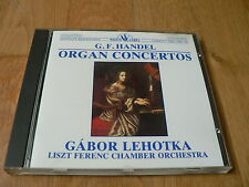 Gabor Lehotka - Handel : Organ Concertos - Sandor - CD White Label Sanyo Japan