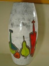 Scheurich Bodenvase 248/50 Keramik op pop art 70er german pottery 70s fat lava