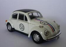 Cararama 1/43 Diecast Model VW Beetle HERBIE Boys Girls Toy Car Present Boxed