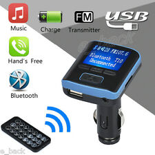 i6 Car Kit Bluetooth Handsfree FM Transmitter Dual USB Charger LCD MP3 Player
