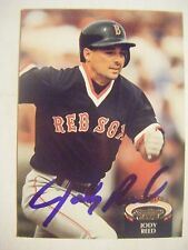 JODY REED signed RED SOX 1992 Topps Stadium baseball card AUTO Autographed #816