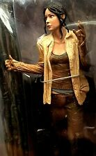 """KATE Lost McFarlane 6"""" Figure Sound Clips with Base and Replica Plane Prop 2006"""