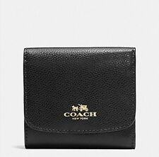 NWT COACH f53768 SMALL WALLET IN CROSSGRAIN LEATHER