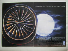 12/1990 PUB ROLLS-ROYCE TAY ENGINE ECLIPSE BOEING 727 BAC 1-11 ORIGINAL AD