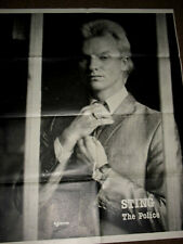The Police /Sting   Poster
