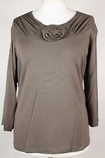 NEW WOMEN  TUNIC size  16/18  TOP 3/4 SLEEVE  BLOUSE QUALITY LADIES  3782