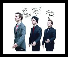 GREEN DAY AUTOGRAPHED SIGNED & FRAMED PP POSTER PHOTO 1