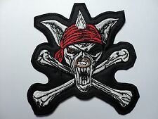 RUNNING WILD    EMBROIDERED  PATCH
