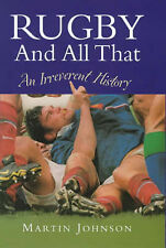 Rugby and All That Martin Johnson Very Good Book