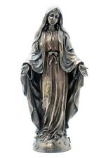 NEW! Our Lady of Grace Bronze Plated Statue Figurine Virgin Mary Madonna SALE!!
