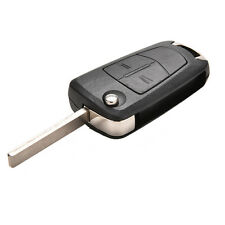 2 Button Remote Flip Key Fob Case For Vauxhall Opel Corsa Astra Vectra Zafira UK