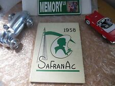 ORIGINAL 1958 ST. FRANCIS ACADEMY YEARBOOK/ANNUAL/JOURNAL/PITTSBURGH, PA