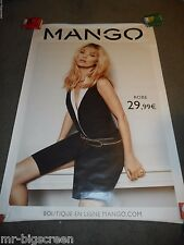 KATE MOSS - MANGO - ORIGINAL HUGE FRENCH BUS STOP POSTER #2