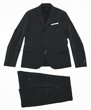$1680 Italy NEIL BARRETT Slim Black Suit Blazer Jacket Pants 52-IT 42 X-Large 36