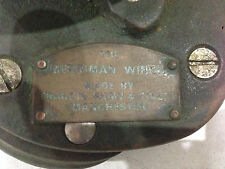 Vintage Merriman Capstan Winch Solid Bronze with Handle Nautical Decoration