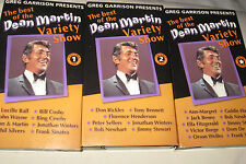 Best Of Dean Martin Variety Show Vol 1, 2, and Special Ed VHS SET Music Comedy