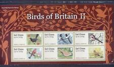 GB 2011 POST AND GO BIRDS OF BRITAIN (2) STAMP SET MINT