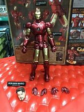 Kaiyodo Revoltech 036 Iron Man Mark III 3 Marvel Figure Toy Model Collection