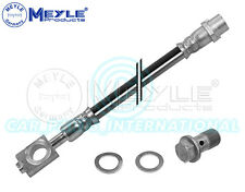 Meyle Germany Brake Hose with seal and hollow screw, 100 611 0085/S