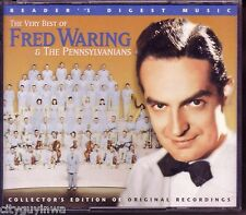 READER'S DIGEST Very Best of FRED WARING & PENNSYLVANIANS Collector's 3 CD Set