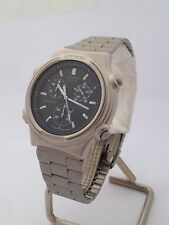 CITIZEN OROLOGIO 3560 Quartz Watch Chronograph stainless steel date CT657 COM