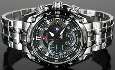 Imported Casio Edifice Chronograph Black Dial Red Bull Men's Watch-EF-550D-1AVDF
