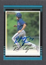 2002 BOWMAN #174  Rich Thompson TORONTO BLUE JAYS  SIGNED AUTOGRAPH AUTO COA