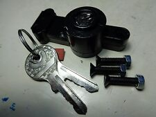 BMW /2 GAS TANK COMPARTMENT LOCK WITH KEYS+ 3 MOUNTING SCREWS NEW R69S R60/2 R50