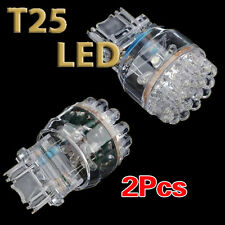 2x T25 3157 3057 W21/5W Car 24 SMD LED Stop Tail Brake Light Bulb Lamp 12V LWUS