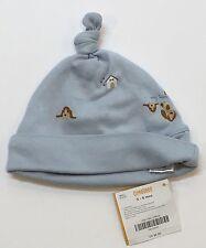NWT Gymboree Puppy Love 3-6 Months Boys Light Blue Bassett Hound Dog House Hat