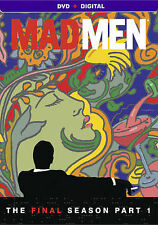 Mad Men: The Final Season, Part 2 (DVD, 2014, 3-Disc Set) and part 1 BOTH!!