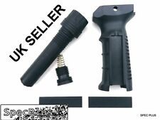 Ergonomic Vertical Foregrip Grip For 21mm Weaver Picantiny Rail Airsoft Black UK