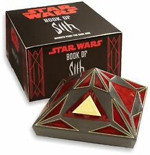Star Wars Book of Sith Secrets from the Dark Side Limited Edition w/ Vault NEW!