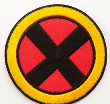 "X-MEN Patch 3"" Embroidered Iron on Badge XMEN Super Hero Costume Wolverine Rogue"