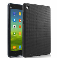 Premium Dotted Flexible Silicone Back Skin Case for Xiaomi Mi Pad - Black