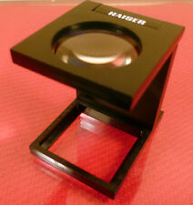 KAISER FOLDING STAND MAGNIFIER / LOUPE No.2333: 50% OFF NEW ITEM! GERMAN MADE.
