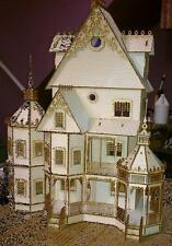 Ashley  dollhouse Half INCH SCALE KIT  laser cut wooden