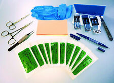 SUTURE PRACTICE KIT,PRO EXPERT  DENTAL MEDICAL NURSE STUDENT VET Q'LTY BRAND NEW