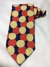 AWESOME ~ DOLCE & GABBANA CRAVATTE 100% SILK TIE ITALY MULTI COLOR POLKADOT