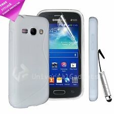 WHITE S LINE GEL SILICONE RUBBER CASE COVER SAMSUNG GALAXY NOTE 3 N9000 N9005
